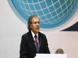 Luis Almagro no es muy querido en Honduras luego del triste papel de la OEA con las peticiones del pueblo en las calles.