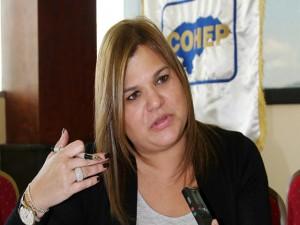 Aline Flores, presidenta del Cohep.