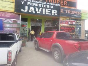 La Ferreetria Javier, propiedad de Javier Cerrato ha sido asegurada.