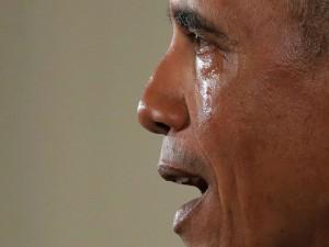 No es la primera vez que la emotividad invade a Barack Obama.