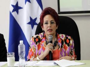 Doris Imelda Madrid, comisionada presidenta del IAIP