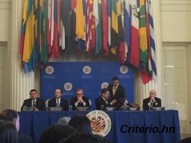 Misión de la OEA investigará 158 casos de corrupción en Honduras