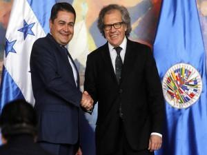 El contenido del convenio de la MACCIH ha sido sugerido por el presidente Juan Hernández.