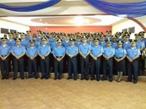 El nuevo uniforme es similar al que usa la policía de Nicaragua.