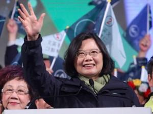 Tsai Ing-wen es la primera mujer presidenta de Taiwán.
