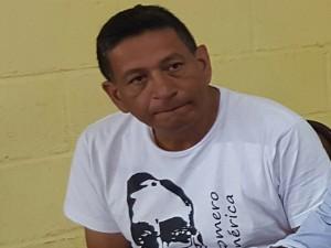 Salvador Zúniga de la Coordinadora Indígena del Poder Popular