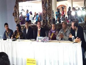 Con esta conferencia dio inicio en Tegucigalpa la Caravana por la Paz, Vida y la Justicia