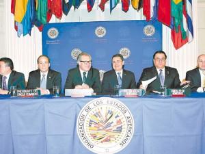 Firma del convenio de la MACCIH el pasado 19 de enero