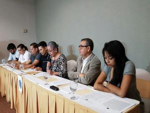 Mesa de la Coalicion contra la Impunidad al brindar su posicionamiento