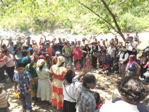 El Copinh no desmaya en su lucha exigiendo justicia para su lideresa y para su pueblo