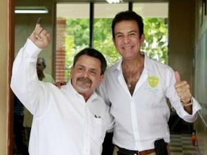 Guillermo Milla y Salvador Nasralla esta vez serán rivales dentro de su partido