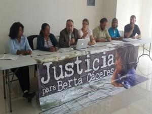 Mision Internacional Berta Cáceres