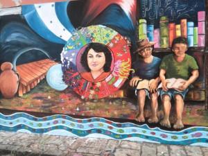 Mural Berta Cantarranas