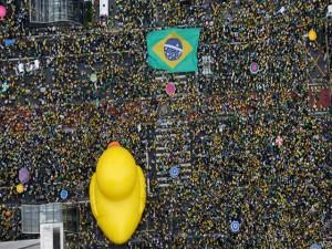 Protestas contra Dilma