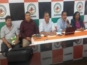 El Colprosumah está en contra de la militarización de los centros educativos.