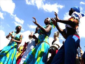 El baile de la Punta es tradicional del pueblo Garífuna