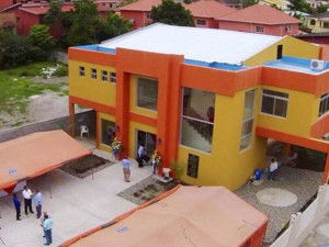 Este es el edificio que alberga las oficinas del IPP en Tegucigalpa.