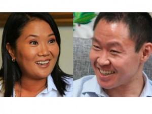 Keiko y Kenji Fujimori son hijos del exopresidente peruano, Alberto Fujimori.