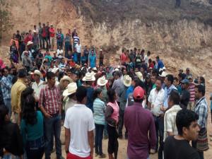 Los pobladores están dispuestos a defender sus derechos
