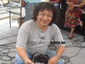 Félix Molina este uno de mayo en la movilización