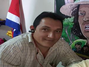 Marvín Ortiz, periodista de Radio y TV Globo