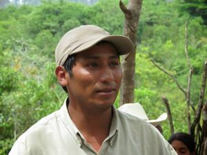 Tomás Gómez coordinador COPINH