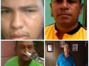Supuestos responsables del asesinato de Berta Cáceres