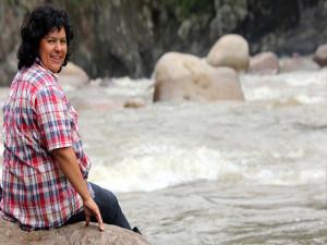 Río Gualcarque por el que Berta peleó y murió