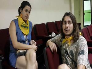 Leticia Paranhos Menna De Oliveira y Douglas De Oliveira Freitas.
