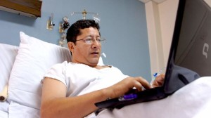 Félix Molina se recupera de dos balazos que le infirieron sicarios el pasado 2 de mayo