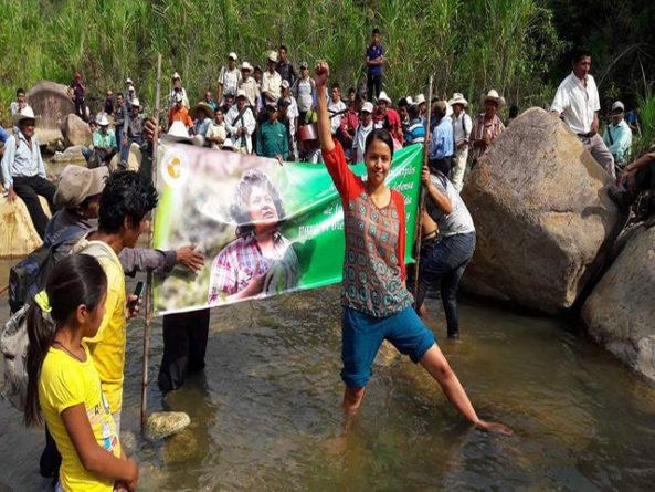 La Resistencia no violenta, vence a los violentos enemigos del pueblo