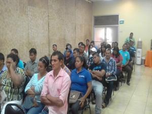 Los campesinos afectados se reunieron este día para analizar la situación y planificar las acciones a emprender para la defensa de sus tierras
