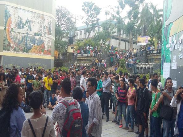 HONDURAS.- Heroica lucha del Movimiento Estudiantil Universitario (MEU) contra las Normas Académicas