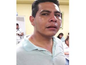 El periodista de Radio Progreso, Gerardo Chévez.