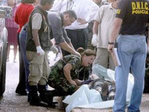 Gráfica recoge el asesinato de Julián Arístides Gonzáles Irías