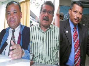 El Fiscal Orlan Chávez, Alfredo Landaverde y Julián Gonzáles Irías tres asesinado por el crimen organizado