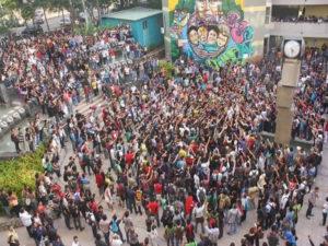 Los estudiantes siguen en pie de lucha hasta lograr la totalidad de las reformas a las normas académicas  y la no criminalización de la protesta