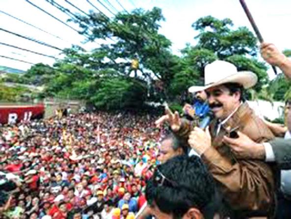 Como entró Mel Zelaya al país tras el golpe de Estado