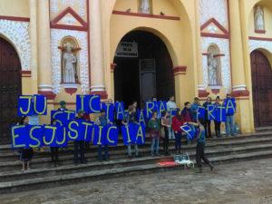 En San Cristobal de las Casas, México exigen justicia para Berta Cáceres