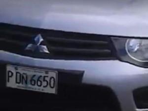 Este era el vehiculo que conducían los militares que entraron a la UNAH vestidos de civil
