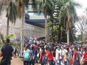 Estudiosos de todas las facultades están en la lucha por la reivindicación de sus derechos