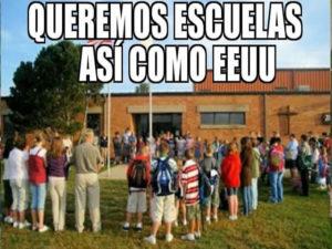 escuelas EU