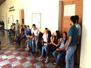 Estudiantes procesados en los juzgados  de Comayagua
