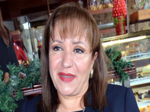 Galdis Aurora López, presidenta del Partido Nacional