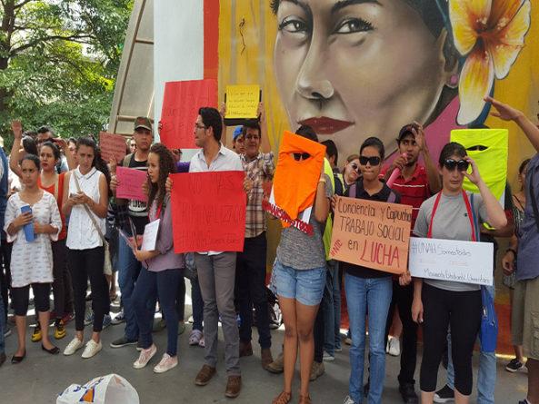 ¿Resurge conflicto entre estudiantes del MEU y autoridades de la UNAH?