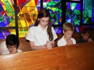 niños iglesia