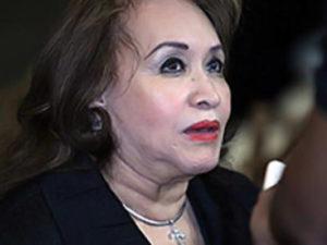 """Silvia Santos,  """"cuando replica dobla""""  sobre el tema de la reelección."""