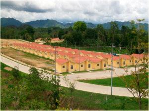 Uno de los campamentos  para los empleados de Patuca III
