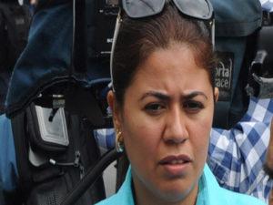 Periodista Lidieth Díaz