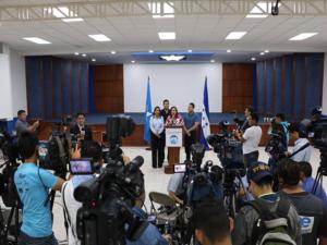 El Partido Nacional emitió su postura en conferencia de prensa.